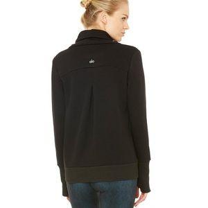 Alo Haze sweater in black